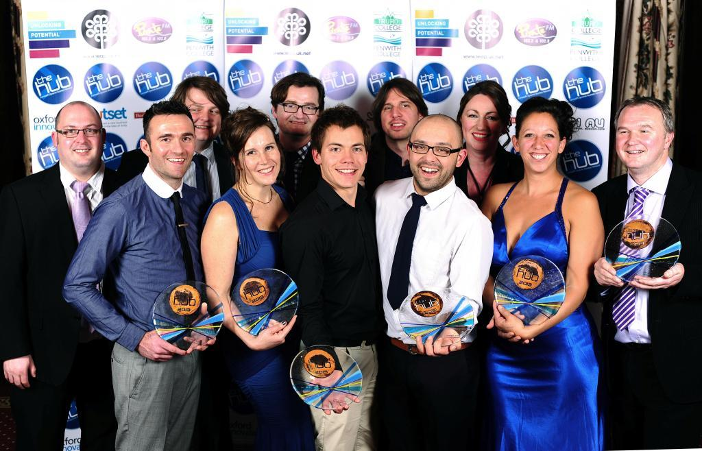 Winners of the 2013 Hub Awards