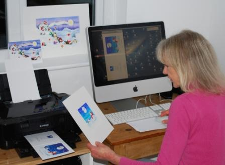 Jules Smith in her new studio