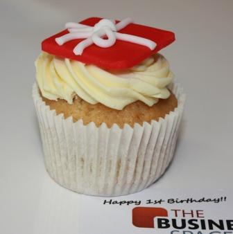 Ist birthday cupcake