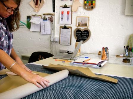 Joanne Bennett at work