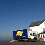 WFS lorry and Longships pub