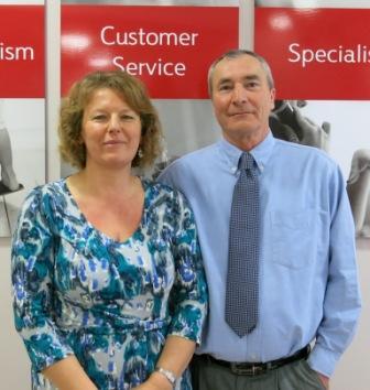 Annabel and Bob Leach