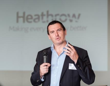 Heathrow's director of policy, Nigel Milton