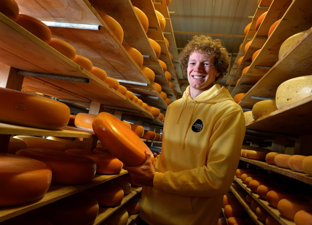 Giel Spierings, owner and creator of Cornish Gouda
