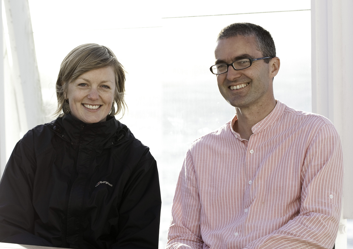MARK directors Anna Hart and John Miller