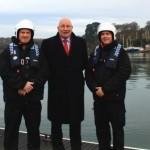 New marine crime unit officers & CMN's CEO Paul Wickes