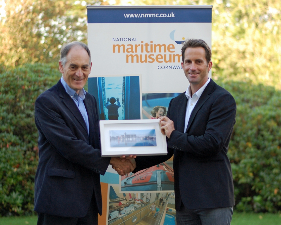 Maritime Museum MD, Jonathan Griffin, welcomes new patron, Sir Ben Ainslie