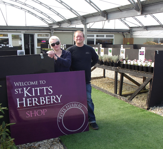 St Kitts Herbery directors Susan and Paul Johnson