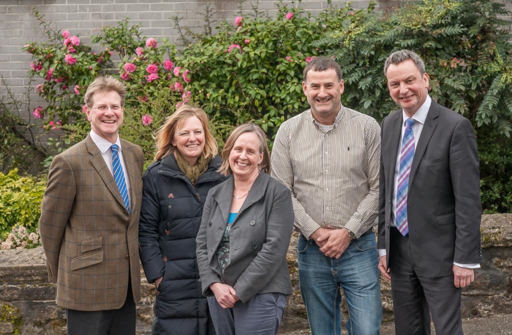 Chamber team: James Staughton, Jacky Swain, Jessica Milln, Dave Halton, Mark Lewis