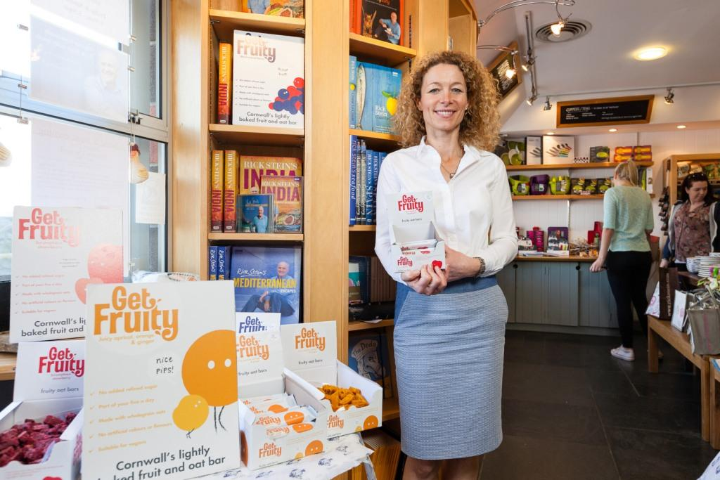 Get Fruity CEO, Davina Whiteoak