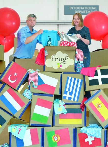 Frugi founders Kurt and Lucy Jewson