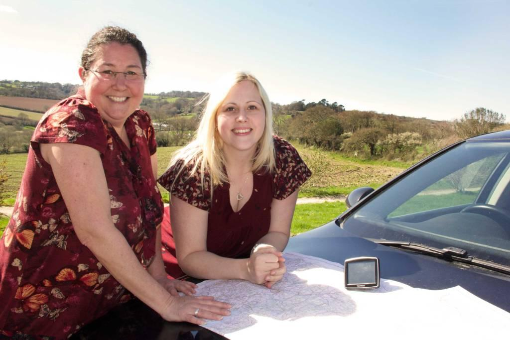 Road trip – Sam White (l) and Suzie Smith will be training clients across the UK this year.