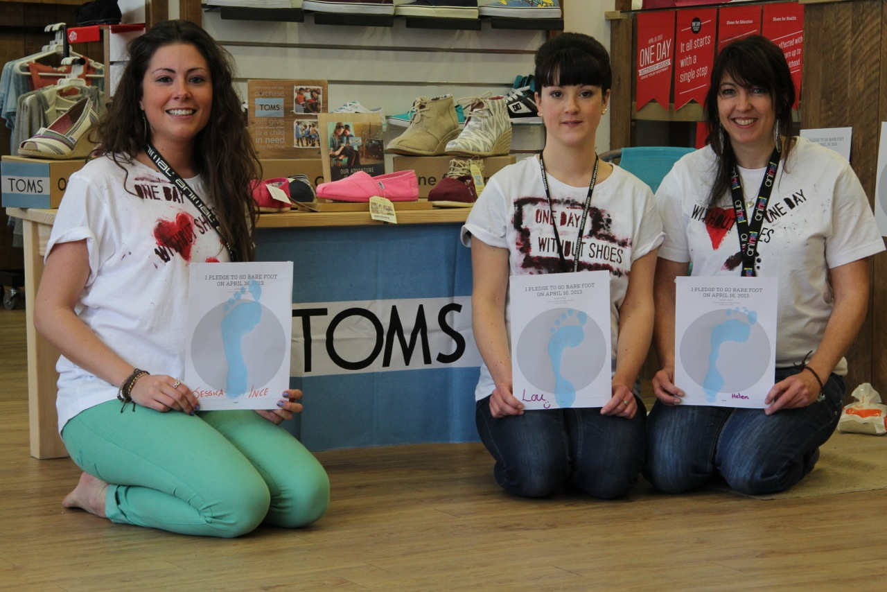 dd62a30d031 Businesses are being urged to go  one day without shoes  next week in  support of charity.