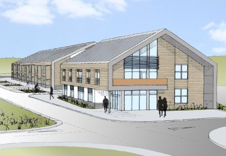 Artist's impression of the business park