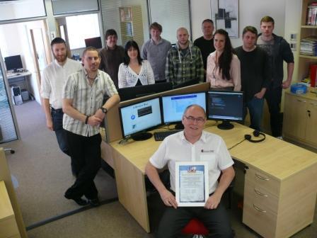 Computech MD Garry Thompson and staff