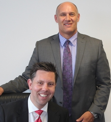Roger Edwards and Paul Sweaton of Vision Financial Planning
