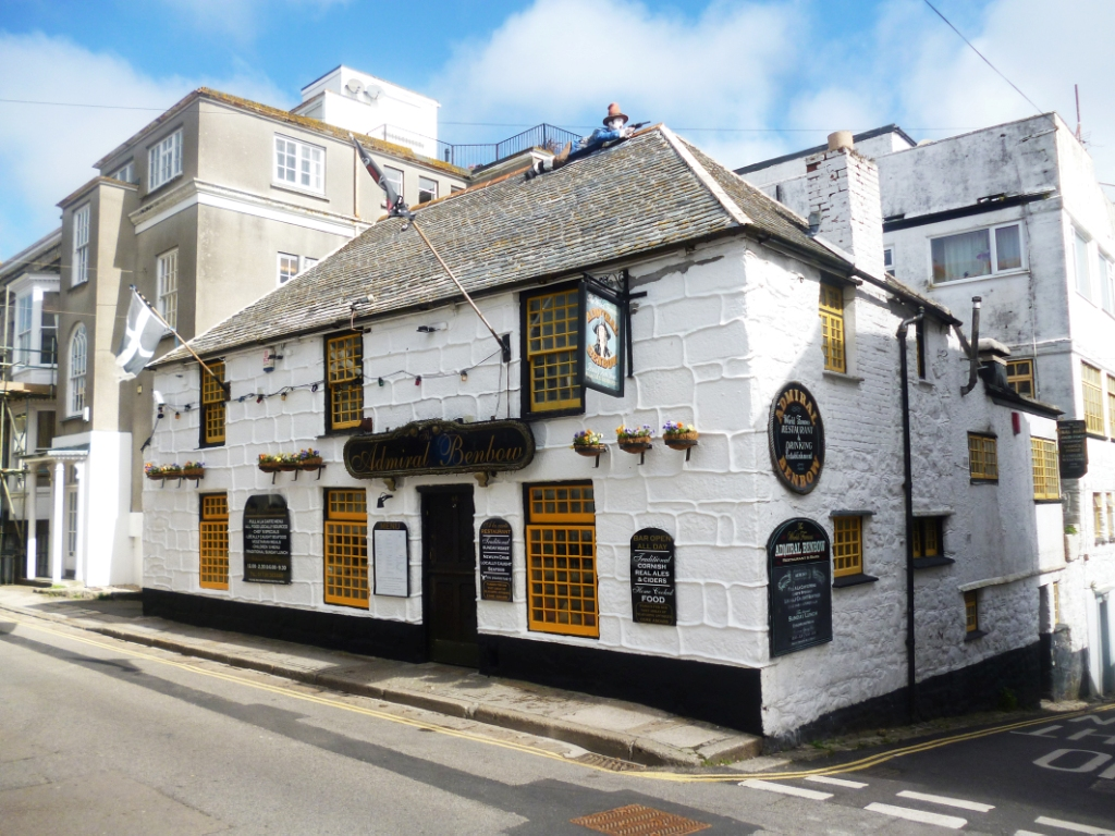 Admiral Benbow frontage