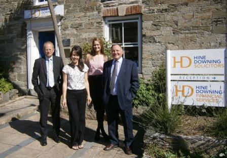 L-R: John McLachlan, Jo Fisher, Lianne Costin and Mike Wilson