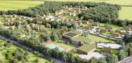 CGI image of the Una St Ives site