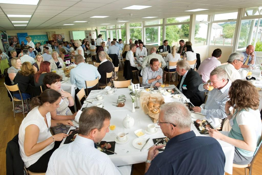Cornwall Chamber of Commerce breakfast at Truro High School