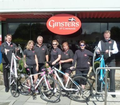 Ginsters Trimoor team