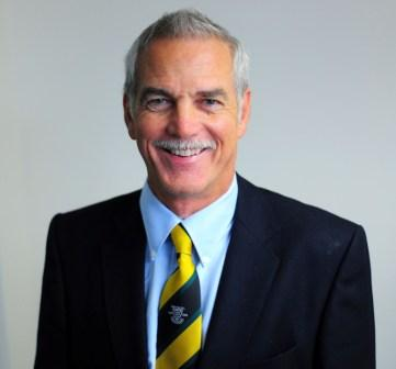 Chairman of trustees, Colin Rowe