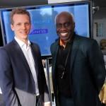 David Gram (L) and Professor Eddie Obeng -«
