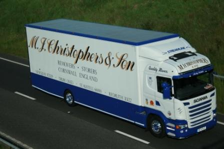 MJ Christophers new lorry