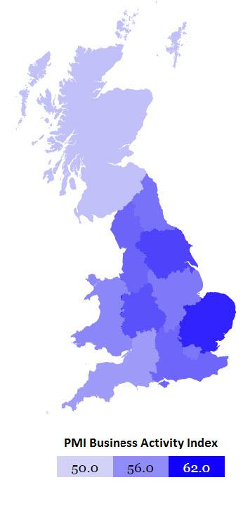 14-10 UK PMI Heat map- September 2014