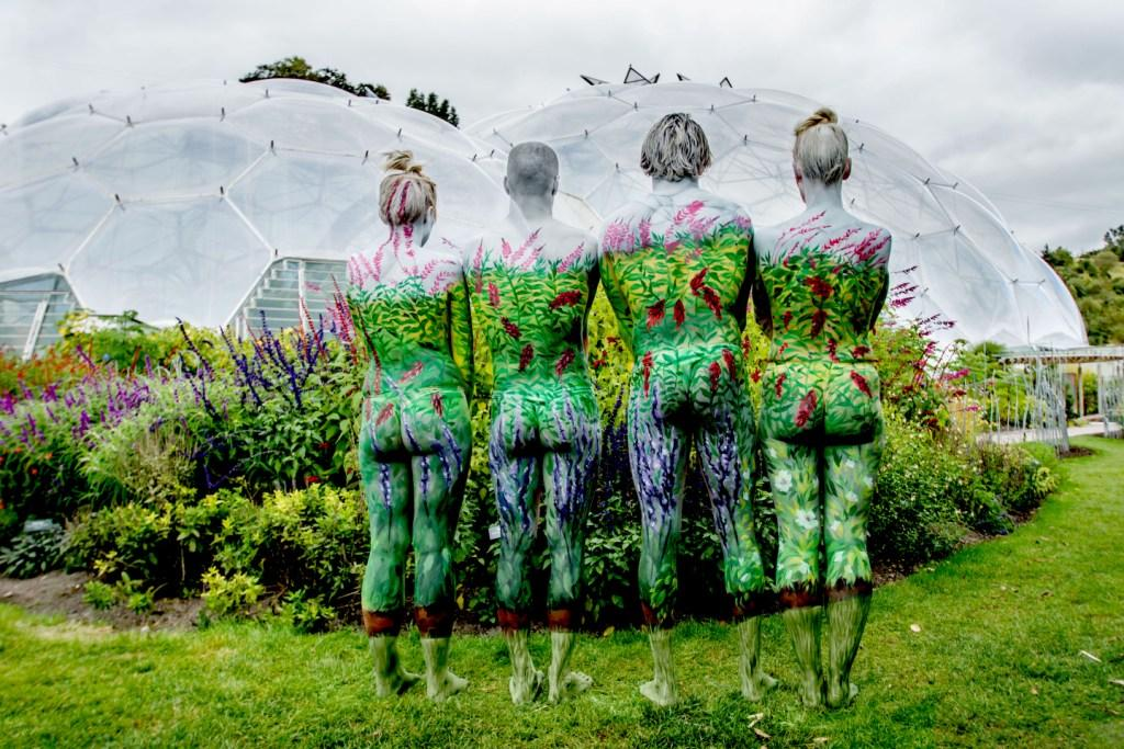 Body Painting at the Eden Project 2 - Sean Gee
