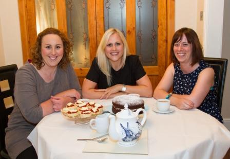 L-R: Helen Rowe, Suzie Smith, Liz May
