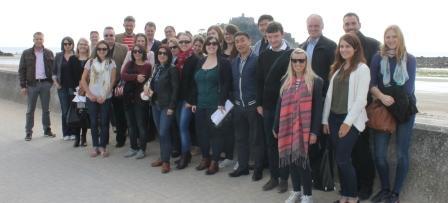 Tour operators visit St Michael's Mount