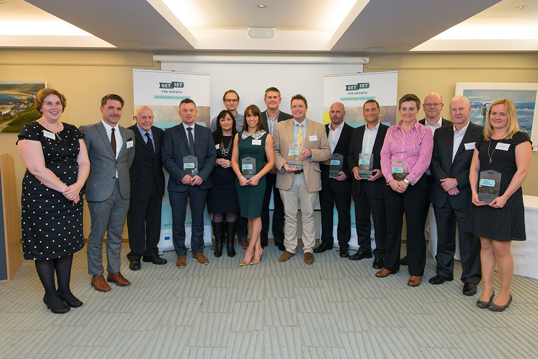 GetSet business award winners and the GetSet team
