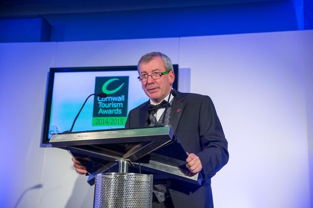 Malcolm Bell introduces the awards