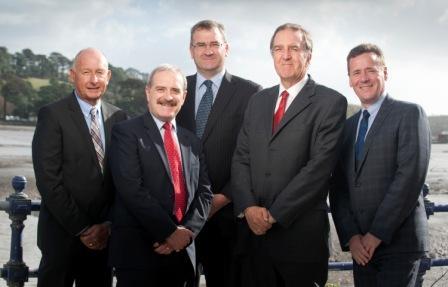 L-R:  Paul Davies, Alan Goddard (MD), Jeremy Oatey, Ian Pawley (chairman); Mark Rothery