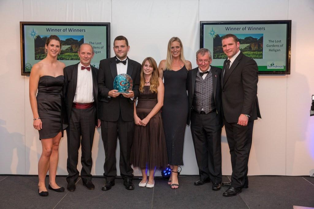 Winner of Winners, The Lost Gardens of Heligan