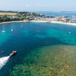 Aerial stills from Isle of Scilly