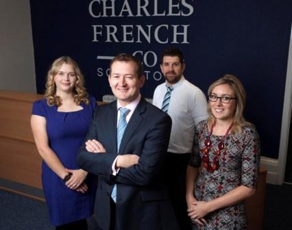L-R: Holly King, Charles French, Ben Birkett, Nicola Harrison
