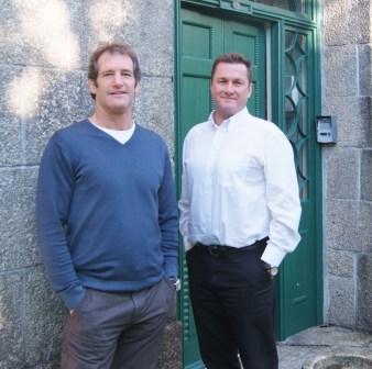 Simon Tregoning (l) and Nick Webb