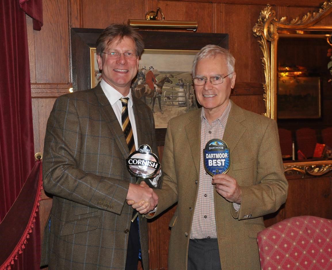 James Staughton (l) and Philip Davies