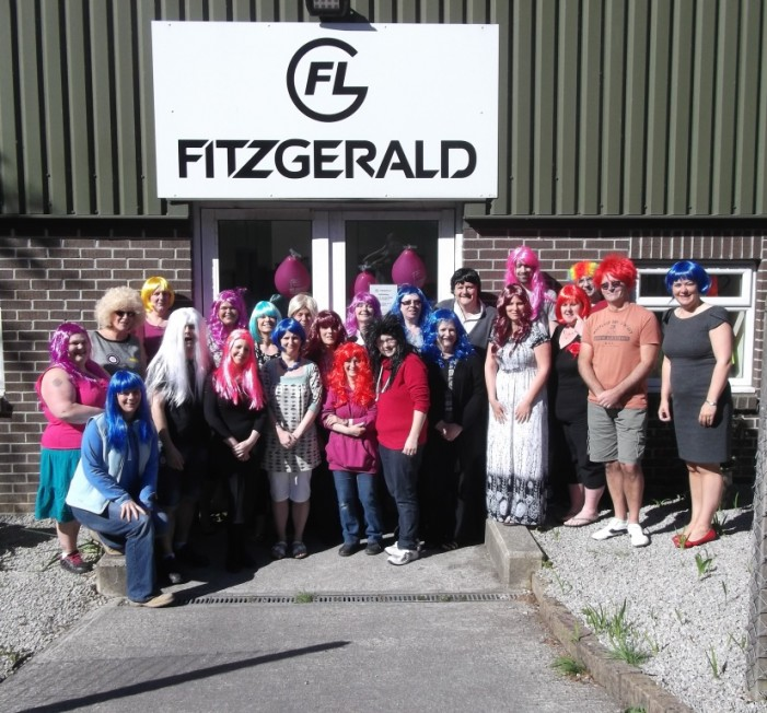 Businesses 'wig-up' for charity