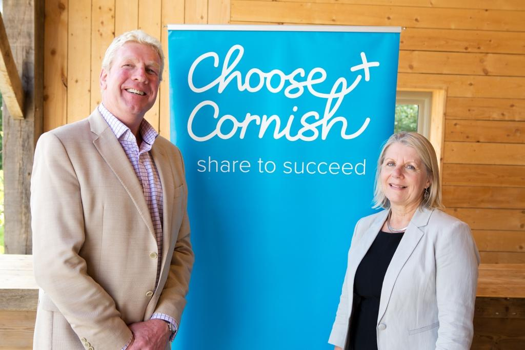 Cornwall chief executive, Kim Conchie, with Cornwall Food & Drink director, Ruth Huxley