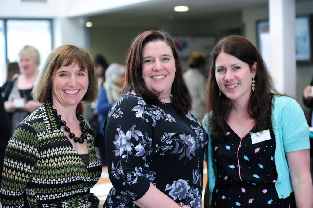 L-R: Allyson Glover, Claire Eason-Bassett and Rachel Picken