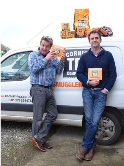 Cornish Tea directors Duncan Bond (l) and Tom Pennington