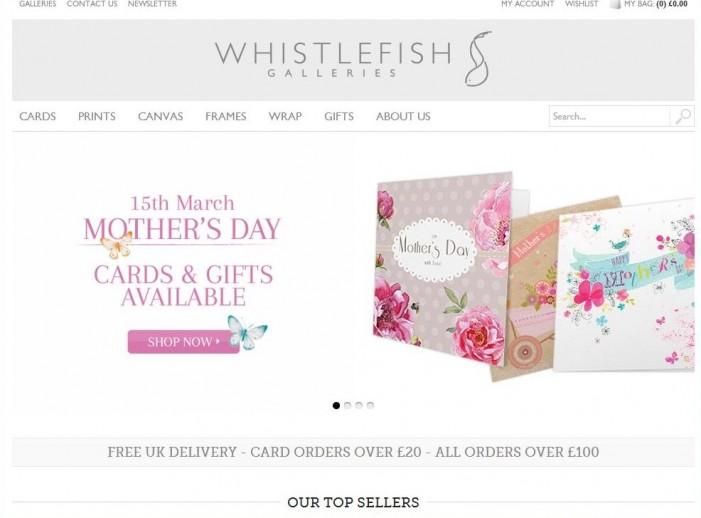 Whistlefish strikes gold