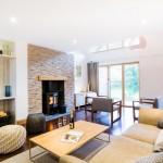 BV houses – sitting room and log burner
