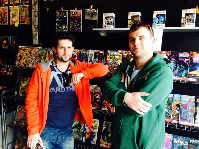 Truro comic book shop opens