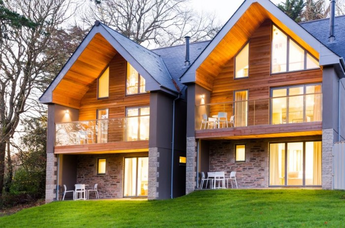5 star Budock Vean holiday homes