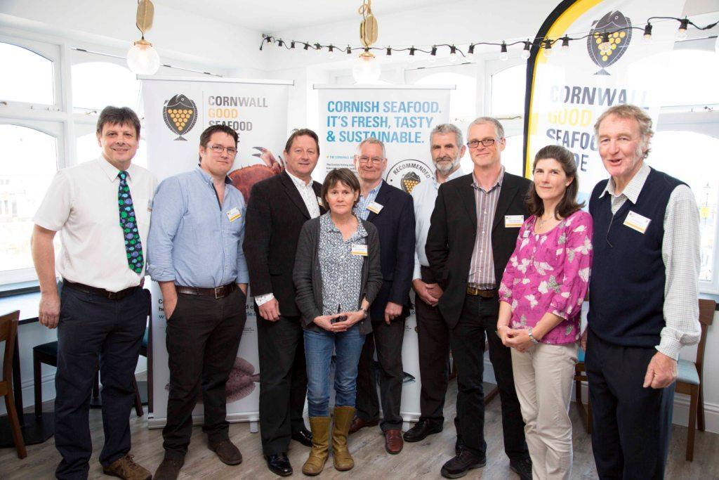 The Cornwall Good Seafood Guide advisory board at yesterday's launch