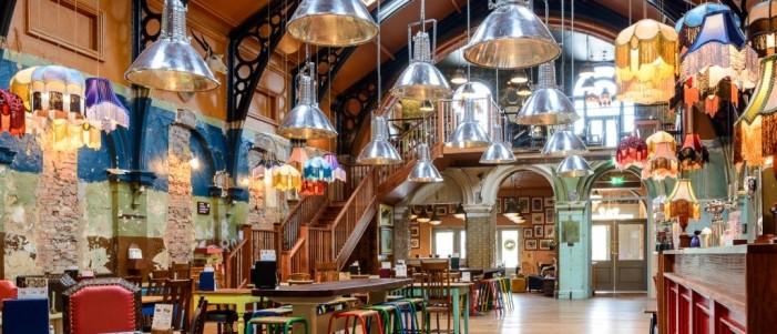 Lounge Bar set for Falmouth
